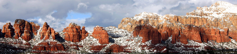 snow banner sedona arizona