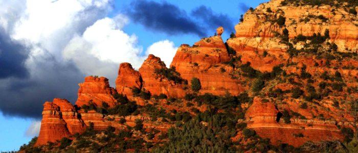 Sedona Arizona Red Rocks Balance Rock